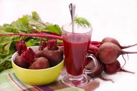 甜菜汁能加强肌肉力量